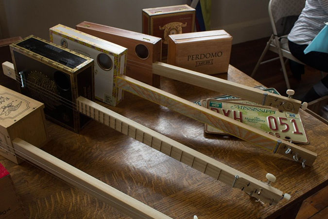 CCB cigar box guitars