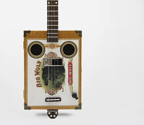 Daddy Mojo 4 string cigar box guitar
