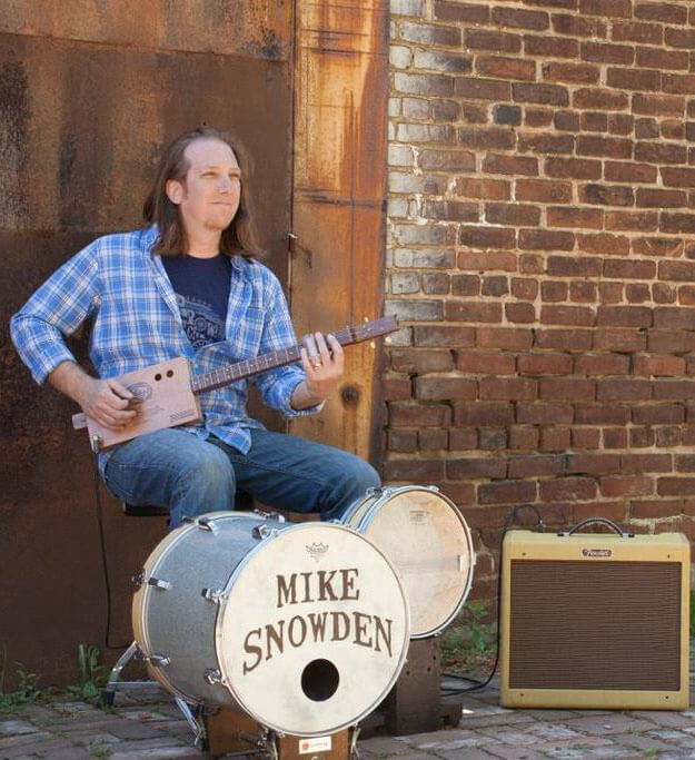 Mike Snowden Cigar Box Guitars