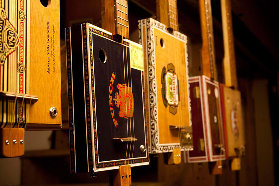 Snowden Cigar Box Guitars