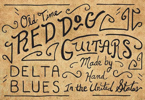 Red Dog Guitars logo