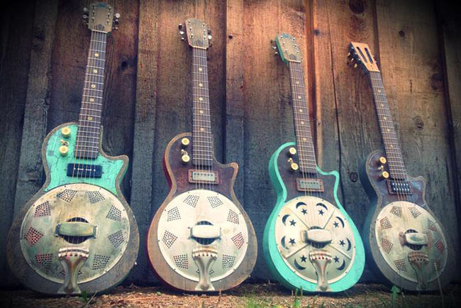 Kochel Guitars custom Cigar Box Guitars